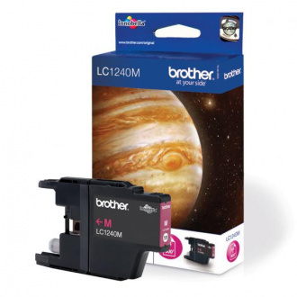Brother LC-1240 (LC1240M) - tusz, magenta (magenta)