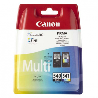 Canon PG-540, CL-541 (5225B006) - tusz, black + color (czarny + kolor) multipack
