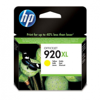 HP 920-XL (CD974AE#231) - tusz, yellow (żółty)